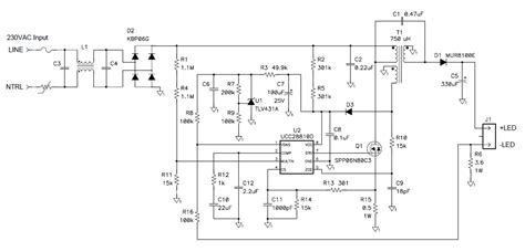 power factor correction led driver power tips how to drive leds with power factor correction in a single stage power house