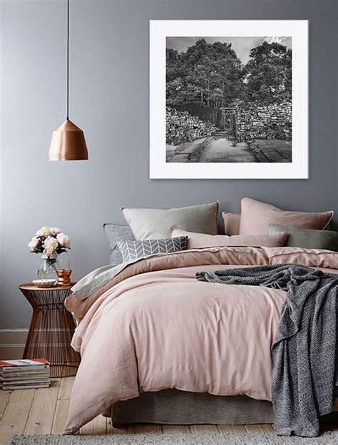 dream bedroom love  pink grey  bronze theme