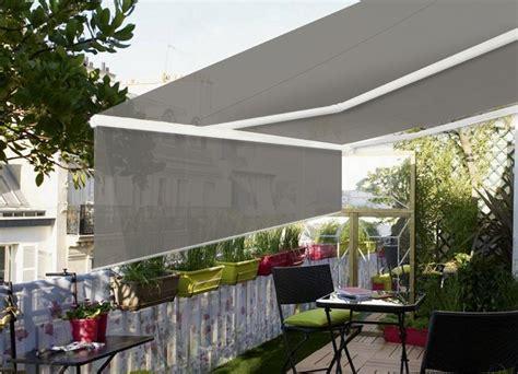 terrasse 4 x 3 m store terrasse demi coffre 4 x 3 m avec lambrequin
