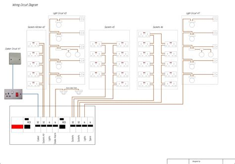 exle domestic wiring diagram lighting electric