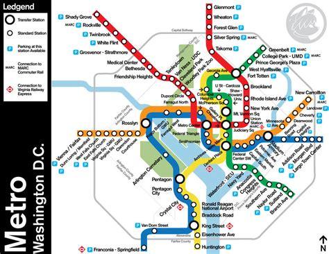 washington dc transit map pdf washington dc metro map with attractions quotes