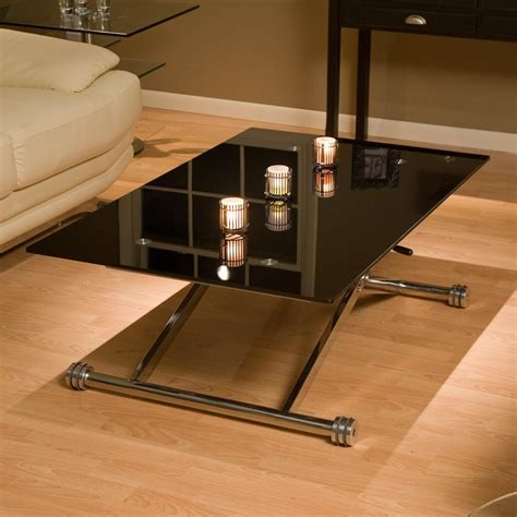adjustable height glass coffee table adjustable height glass coffee table coffee table design
