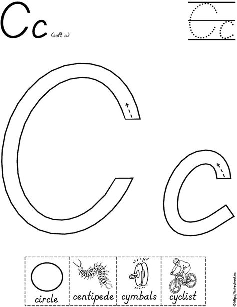 preschool printable worksheets letter c letter c worksheets kindergarten 1000 images about