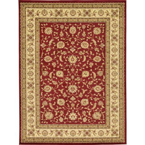 personalized rugs for home unique loom agra 9 ft x 12 ft area rug 3123692 the home depot