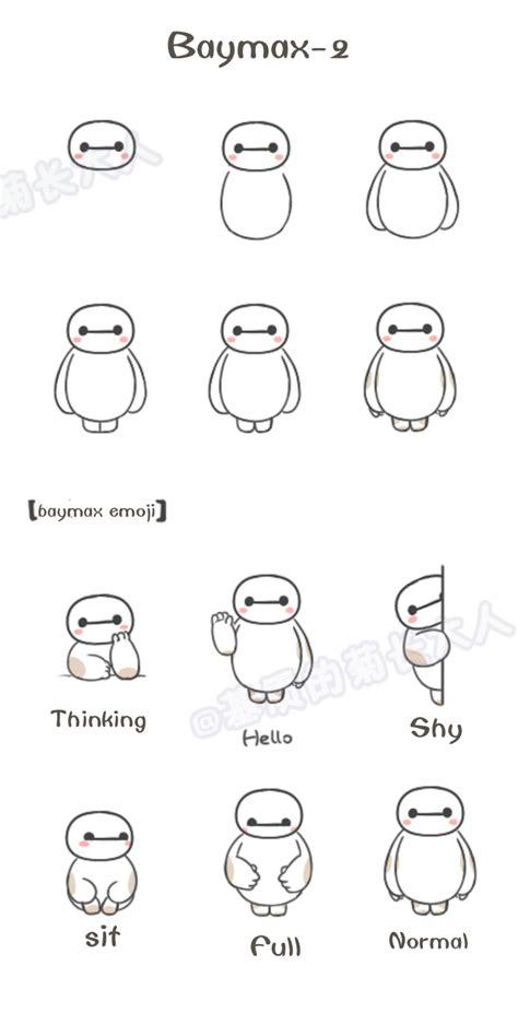 how to use doodle in sentence baymax 2 baymax emoji from 基质的菊长大人 baymax