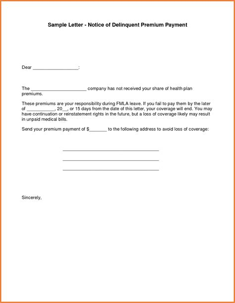 Payment Plan Agreement Letter Template Payment Agreement Letter Sop