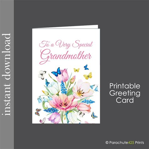 printable birthday cards for grandma grandmother card printable card grandma mothers day grandma