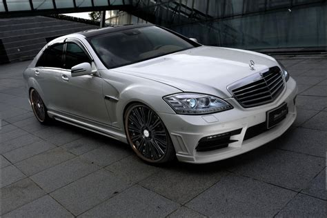 black benz mercedes benz s class black bison edition styling kit for