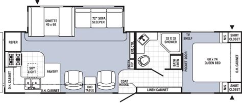 rear kitchen rv floor plans 2015 rear kitchen travel trailer rv 30rkss ebay