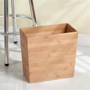 interdesign formbu rectangular wastebasket trash can