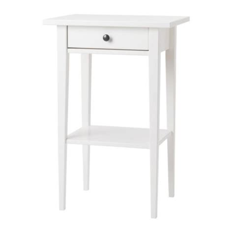 White Bedside Drawers Ikea Hemnes Bedside Table White Ikea