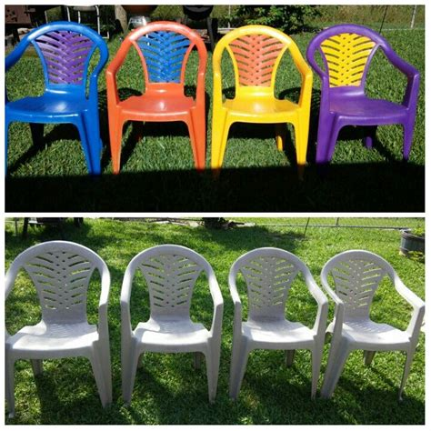 Paint Plastic Chairs - 17 best ideas about painting plastic chairs on