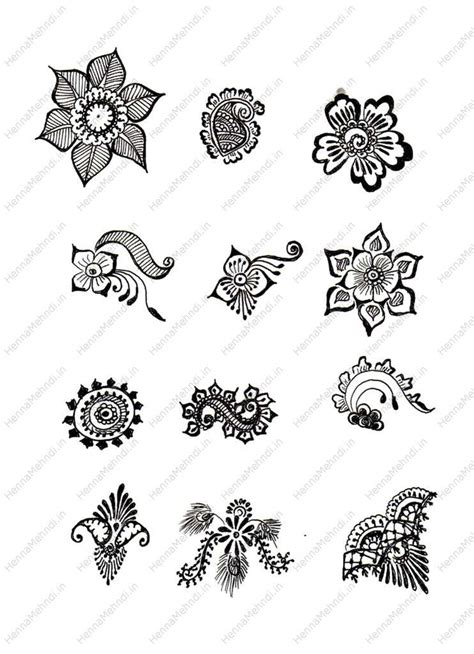 small mehndi tattoo designs simple mehndi designs for beginners printable henna