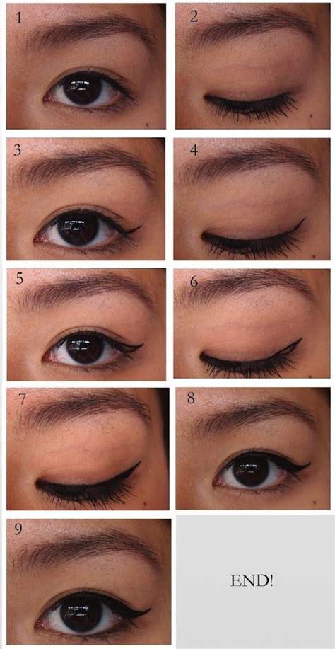 winged eyeliner tutorial asian winged eyeliner tutorial for asians double eyelids