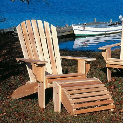 rustic natural cedar furniture oversized adirondack chair ebay