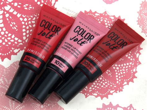 Maybelline Colour Jolt maybelline color jolt lip paint review and