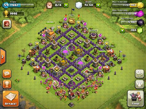 coc town hall 7 clash of clans base designs for town hall 10 town hall 9