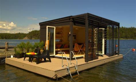 Prefab Rooms by Solar Powered Floating Prefab Room By Kenjo Homecrux