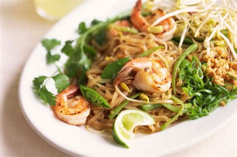 easy pad thai noodles recipe from phuket thailand