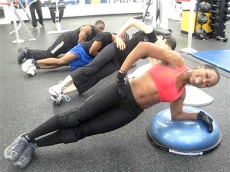 chaplin ab workout on bosu abs