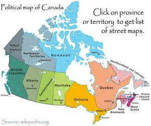 canadian maps