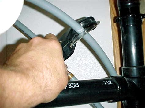 installing water shut valve sink install shut valve sink replace faucet