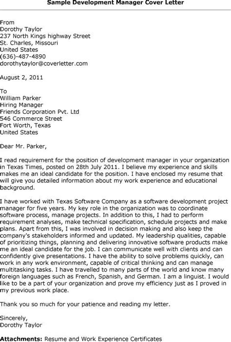 cover letter exle for it application cover letter for application