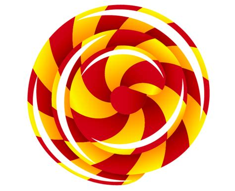 vector lollipop tutorial create a swirly lollipop using the spiral tool tuts