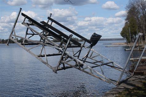 boat r accessories boat lift options accessories r j machine