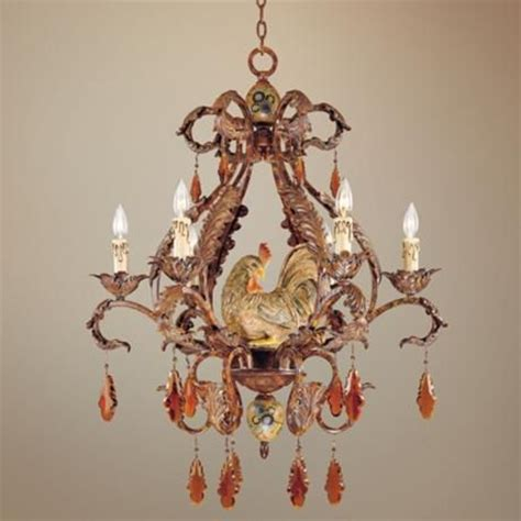 Rooster Chandelier Tracy Porter Clyde Collection 28 Quot Wide Chandelier