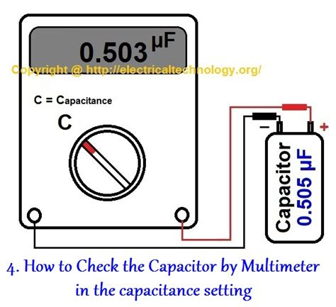 how to check ceramic capacitor with multimeter how to test a capacitor 6 ways to check a capacitor electrical eng