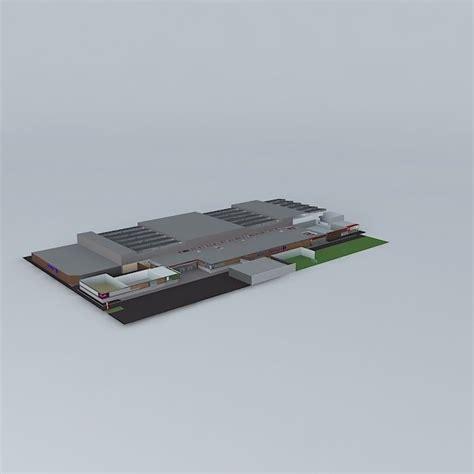 sir alex ferguson 3d model obj cgtrader com intersection building free 3d model max obj 3ds fbx stl