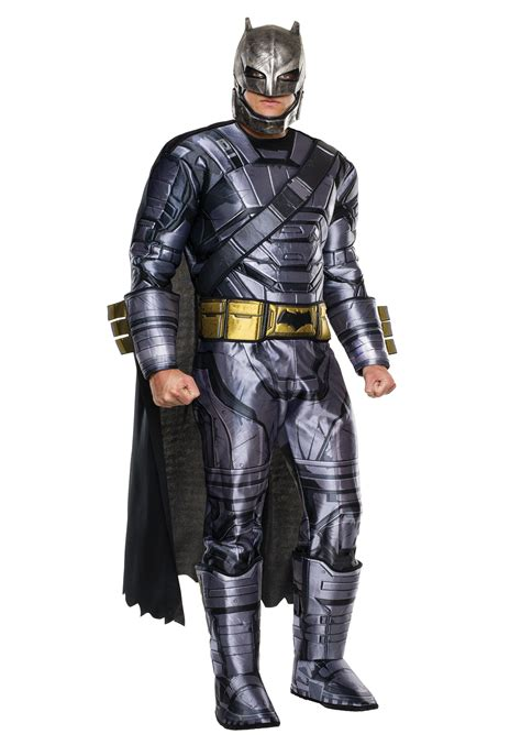 Deluxe Of Justice Armored Batman Costume