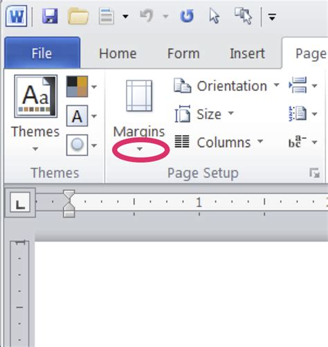 web layout word margins word for writers part 3 changing document defaults
