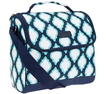 sachi crossbody insulated lunch bag k40891 qvc