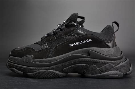 All Black Balenciaga buy ireland balenciaga s low top trainers all black black s