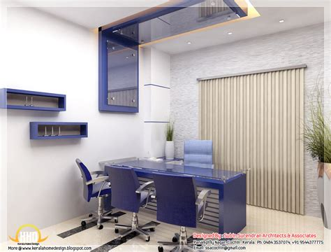 office design images beautiful 3d interior office designs kerala home design and floor plans