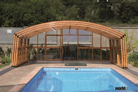 pool awnings canopies angebot swimming pools manufacturer in europe
