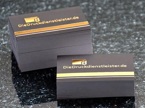 Visitenkarten Gold by Visitenkarten Mit Hei 223 Folienpr 228 Gung Drucken Schnell