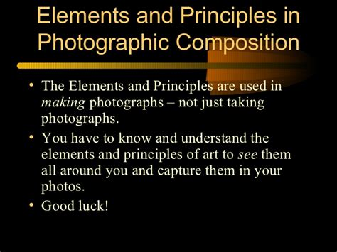 design elements and principles photography elements and principles of design photography exles