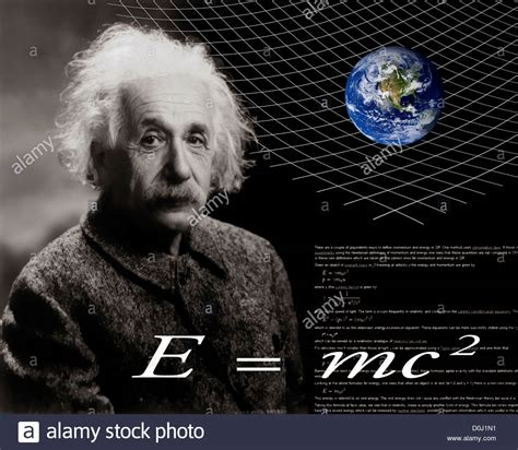 Albert Einstein Biography Theory Of Relativity | photo illustration of albert einstein and the theory of