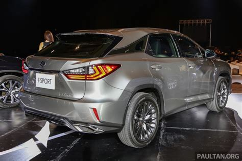 lexus e250 new fourth lexus rx launched in malaysia 200t 350