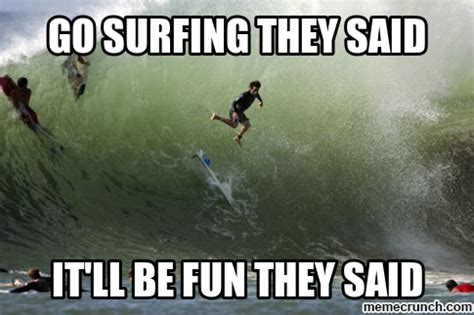 Memes What Are They - go surfing they said