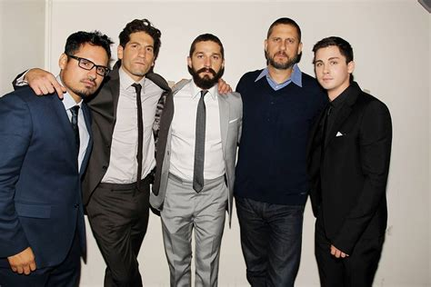 casting film layar lebar oktober 2014 the cast of fury without their uniforms look just as