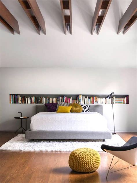 built in bookcases bedroom minimalist yvotube com la shed architecture desiretoinspire net recessed