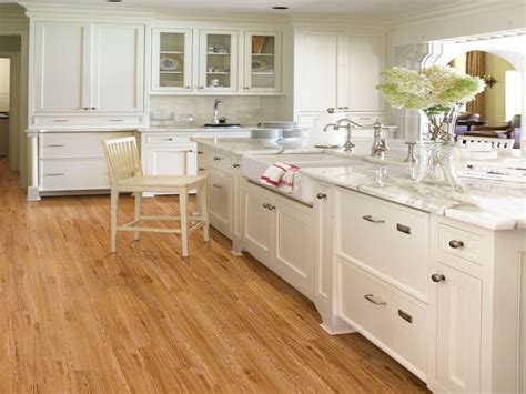 white or wood kitchen cabinets engineered bamboo floor country kitchens with white