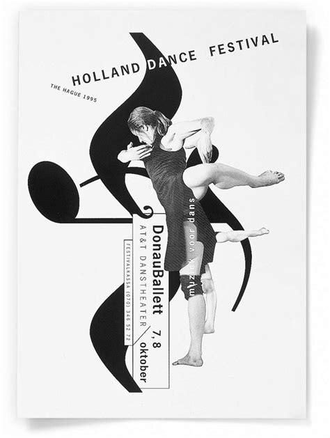 poster design dance 56 best gert dumbar visual identity images on pinterest