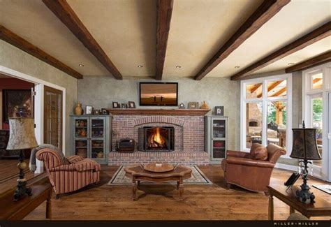 exposed ceiling beams 32 spectacular living room designs with exposed beams