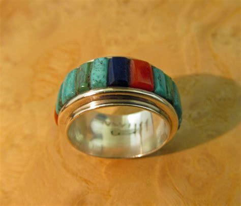 charles loloma ring hopi silver from
