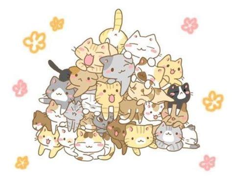 imagenes de muñequitos kawaii pin de brittany feaser en kawaii pinterest gato gatos